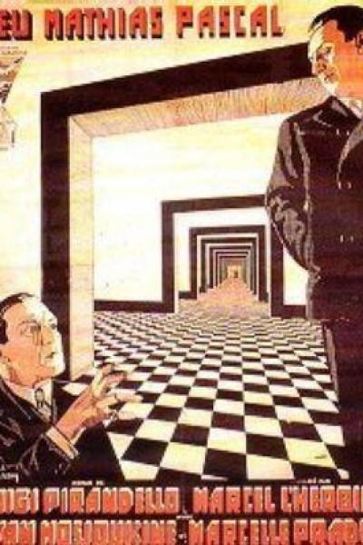 Caratula, cartel, poster o portada de El difunto Matías Pascal