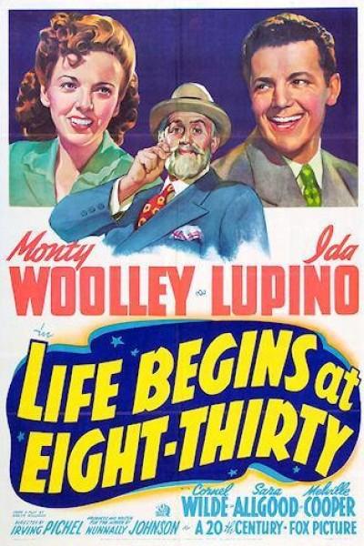 Caratula, cartel, poster o portada de Life Begins at Eight-Thirty