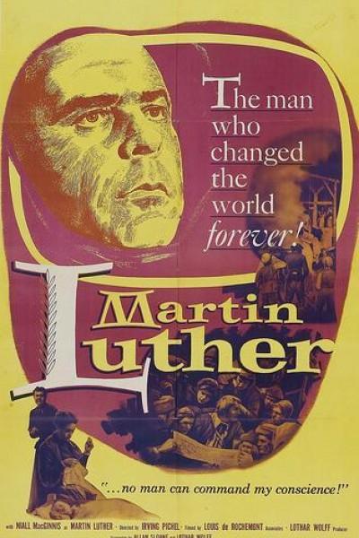 Caratula, cartel, poster o portada de Martín Lutero