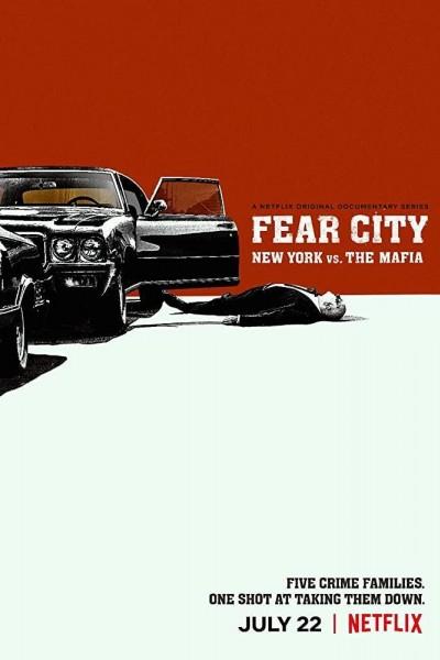 Caratula, cartel, poster o portada de La ciudad del miedo: Nueva York contra la mafia