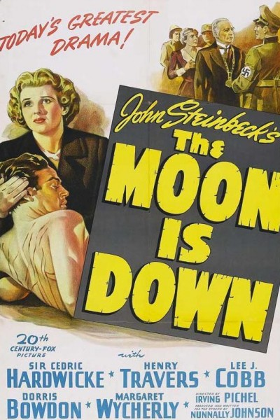 Caratula, cartel, poster o portada de The Moon Is Down