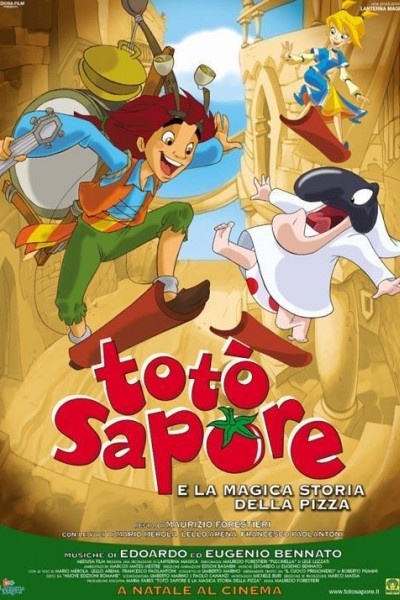 Caratula, cartel, poster o portada de Totò Sapore e la magica storia della pizza