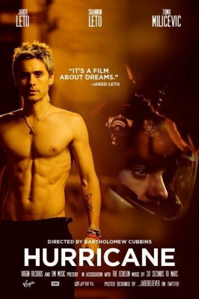 Caratula, cartel, poster o portada de 30 Seconds to Mars: Hurricane (Vídeo musical)