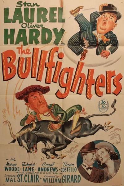 Caratula, cartel, poster o portada de Stan y Oliver toreros