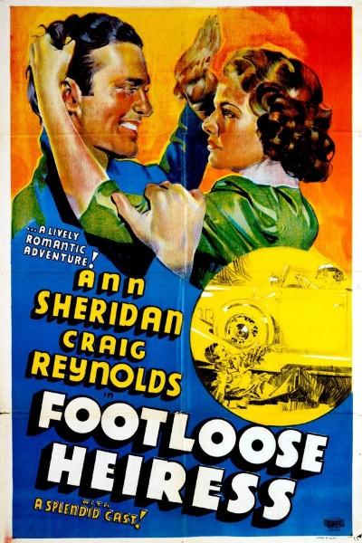 Caratula, cartel, poster o portada de The Footloose Heiress