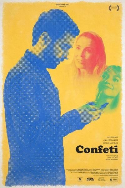 Caratula, cartel, poster o portada de Confeti