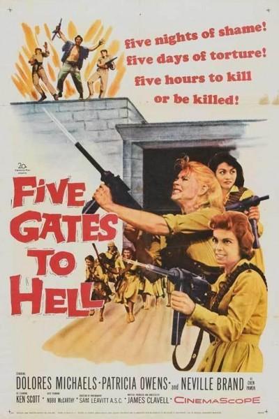 Caratula, cartel, poster o portada de Five Gates to Hell