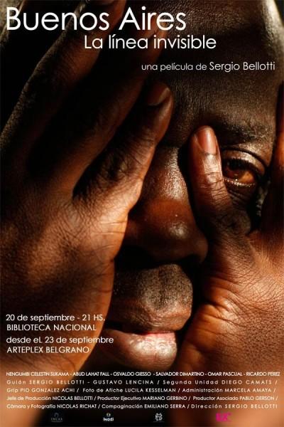 Caratula, cartel, poster o portada de Buenos Aires, la línea invisible
