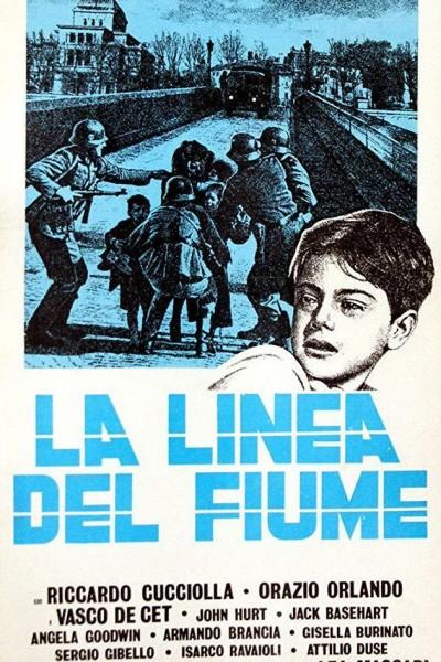 Caratula, cartel, poster o portada de La linea del fiume