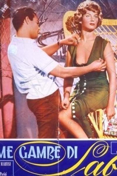 Caratula, cartel, poster o portada de Le bellissime gambe di Sabrina
