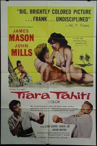 Caratula, cartel, poster o portada de Tiara Tahití