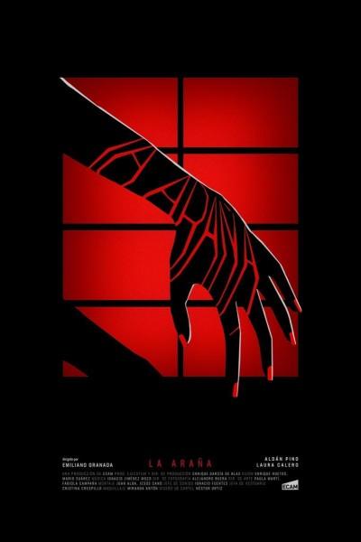 Caratula, cartel, poster o portada de La araña