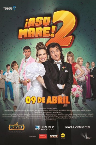 Caratula, cartel, poster o portada de ¡Asu Mare! 2