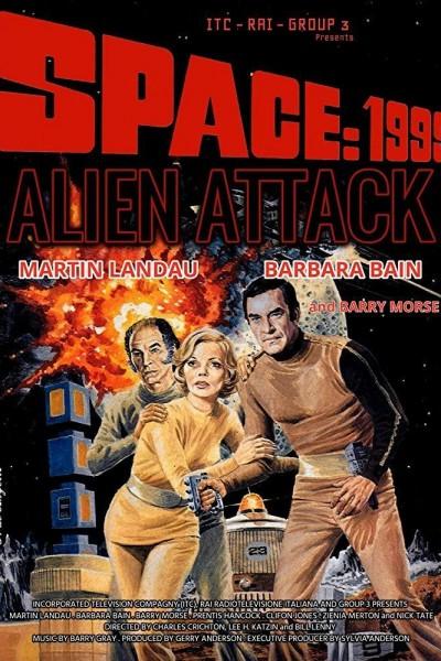 Caratula, cartel, poster o portada de Alien ataca