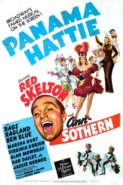 Caratula, cartel, poster o portada de Panama Hattie