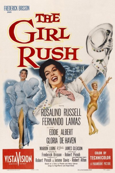 Caratula, cartel, poster o portada de The Girl Rush