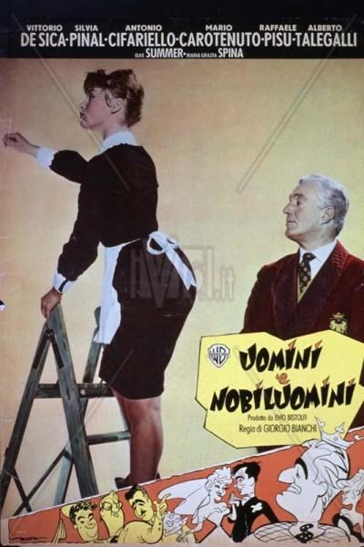 Caratula, cartel, poster o portada de El marqués, su sobrina y la doncella