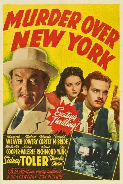 Caratula, cartel, poster o portada de Murder Over New York
