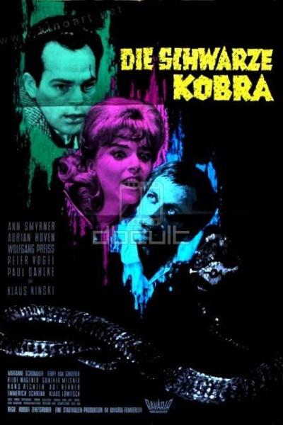 Caratula, cartel, poster o portada de Die schwarze Kobra