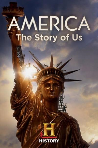 Caratula, cartel, poster o portada de América, la historia de EEUU