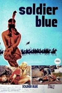 Caratula, cartel, poster o portada de Soldado azul