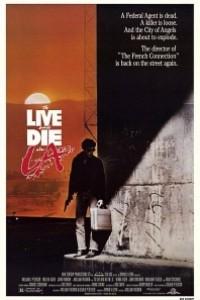 Caratula, cartel, poster o portada de Vivir y morir en Los Ángeles