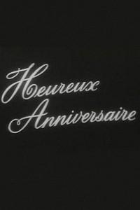 Caratula, cartel, poster o portada de Feliz aniversario