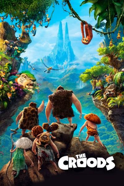 Caratula, cartel, poster o portada de Los Croods. Una aventura prehistórica
