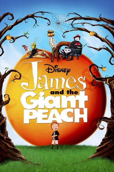 Caratula, cartel, poster o portada de James y el melocotón gigante