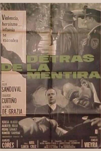 Caratula, cartel, poster o portada de Detrás de la mentira