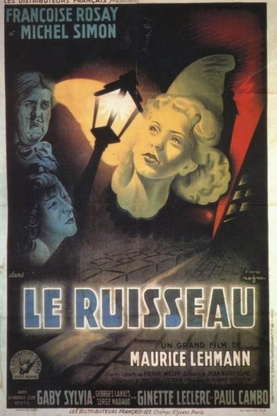 Caratula, cartel, poster o portada de Le ruisseau