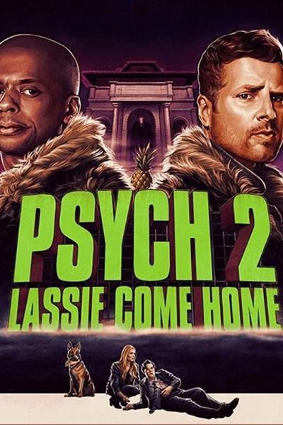 Caratula, cartel, poster o portada de Psych 2: Lassie Come Home