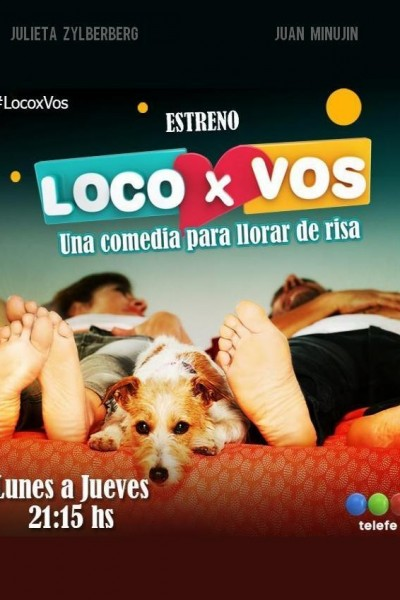 Caratula, cartel, poster o portada de Loco x vos