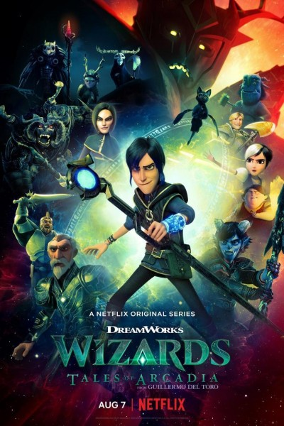 Caratula, cartel, poster o portada de Magos: Cuentos de Arcadia