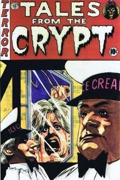 Caratula, cartel, poster o portada de Historias de la cripta: Gente que vive en coches fúnebres