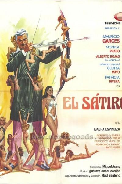 Caratula, cartel, poster o portada de El sátiro