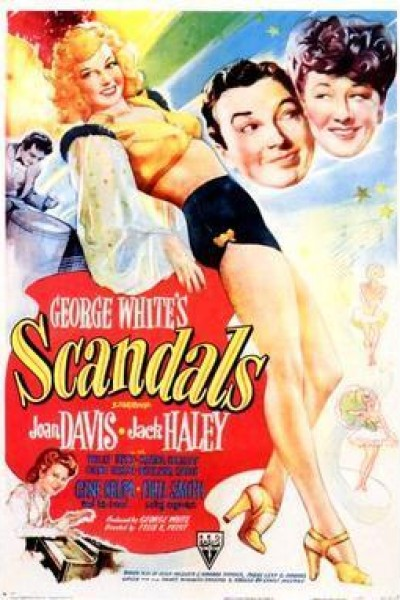 Caratula, cartel, poster o portada de George White\'s Scandals