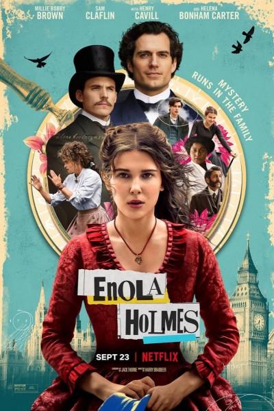 Caratula, cartel, poster o portada de Enola Holmes
