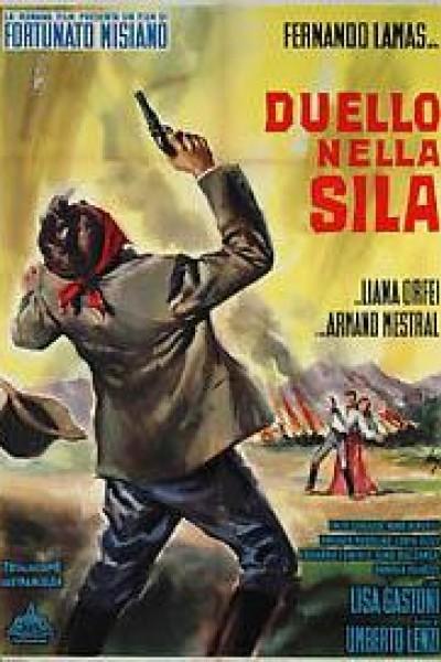 Caratula, cartel, poster o portada de Duello nella sila