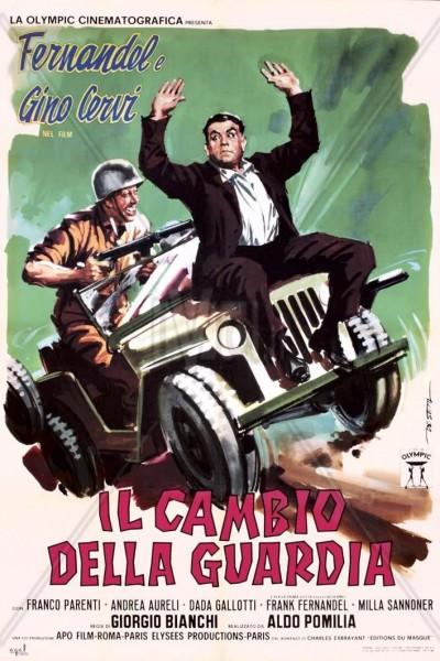 Caratula, cartel, poster o portada de Il cambio della guardia
