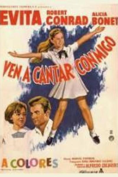 Caratula, cartel, poster o portada de Ven a cantar conmigo