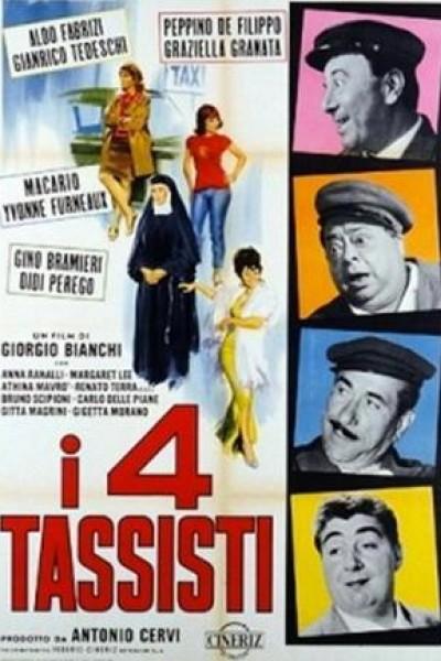 Caratula, cartel, poster o portada de I 4 tassisti
