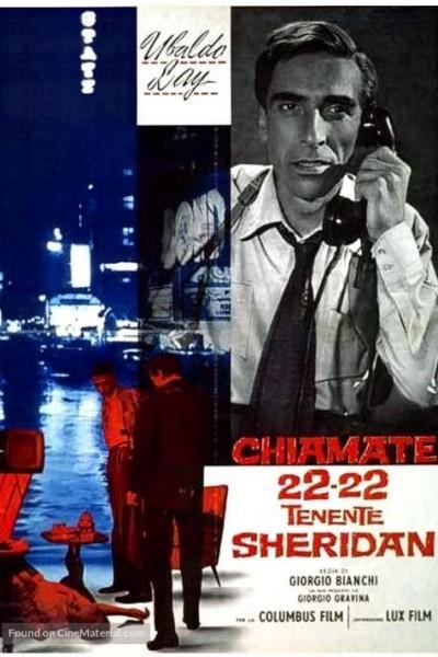 Caratula, cartel, poster o portada de Llamad al 22-22 inspector Sheridan