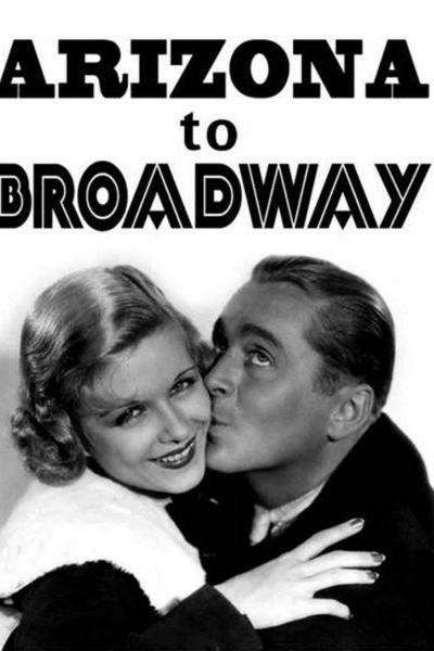 Caratula, cartel, poster o portada de Luces de Broadway