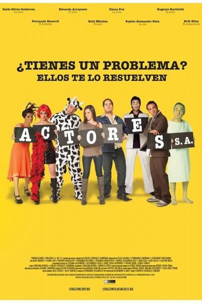 Caratula, cartel, poster o portada de Actores, S.A.