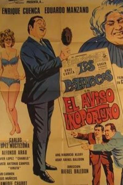 Caratula, cartel, poster o portada de El aviso inoportuno