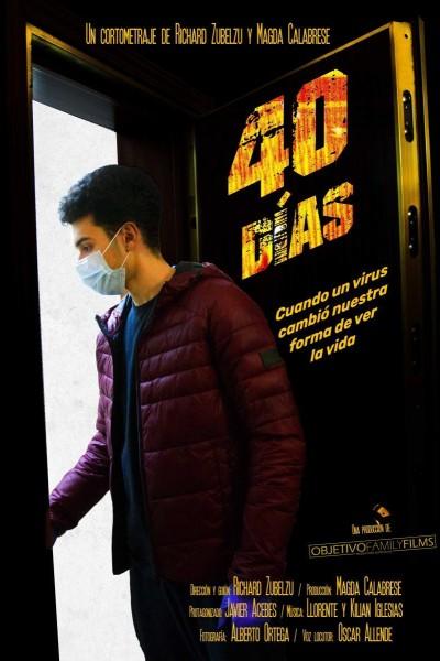 Caratula, cartel, poster o portada de 40 días