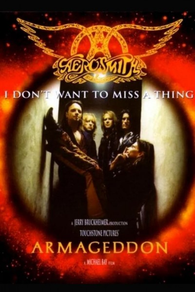 Caratula, cartel, poster o portada de Aerosmith: I Don\'t Wanna Miss a Thing (Vídeo musical)