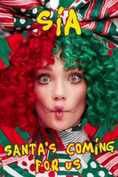 Caratula, cartel, poster o portada de Sia: Santa\'s Coming for Us (Vídeo musical)