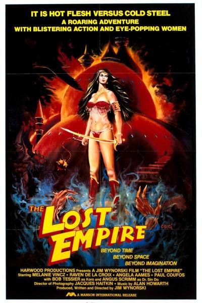 Caratula, cartel, poster o portada de El imperio perdido